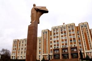 Leninbeeld Tiraspol C Fleur de Weerd